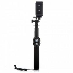 Selfie tyč PREMIUM RC 80 cm černá (monopod)