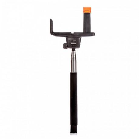 Selfie tyč DELUXE BT 100 cm čierna (monopod)